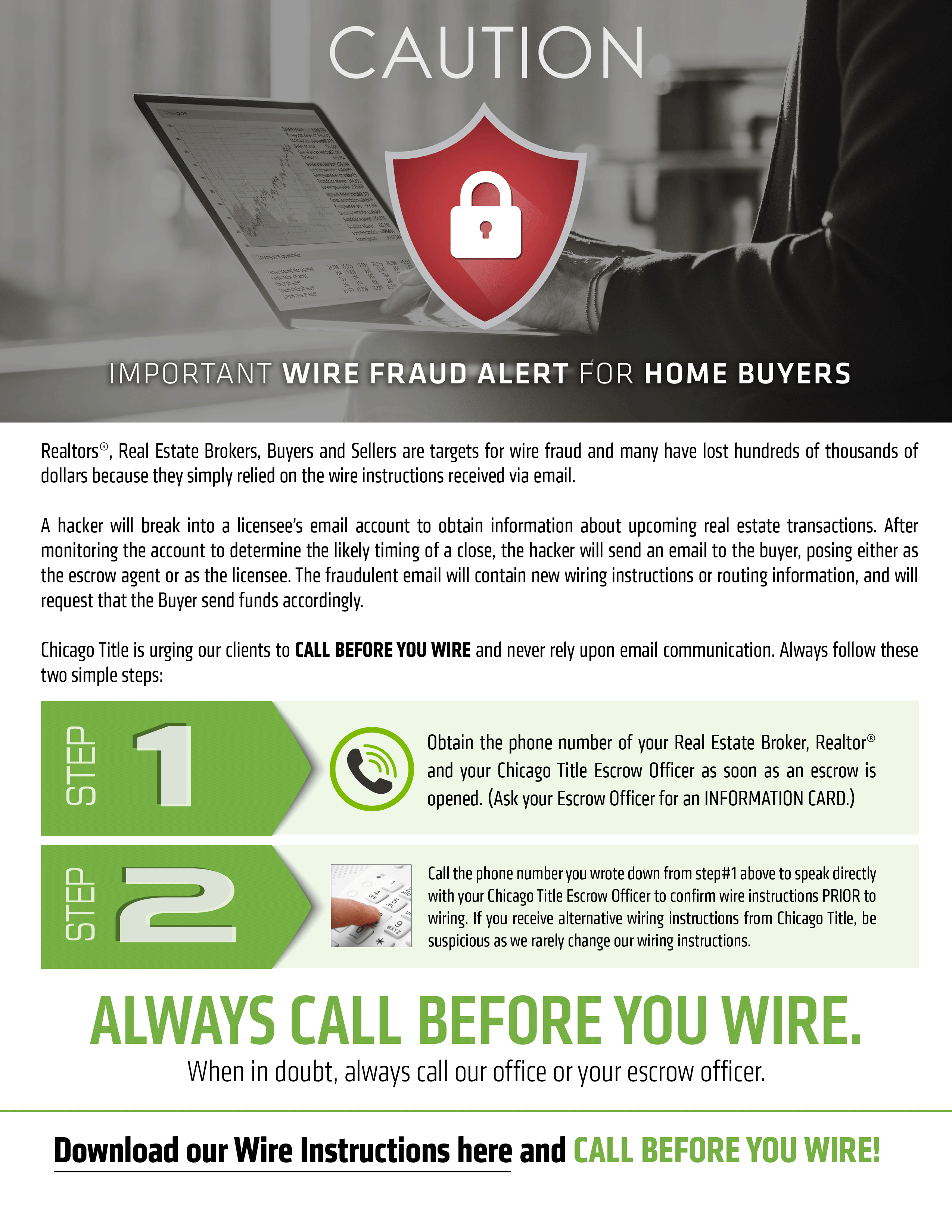 Wire Instructions