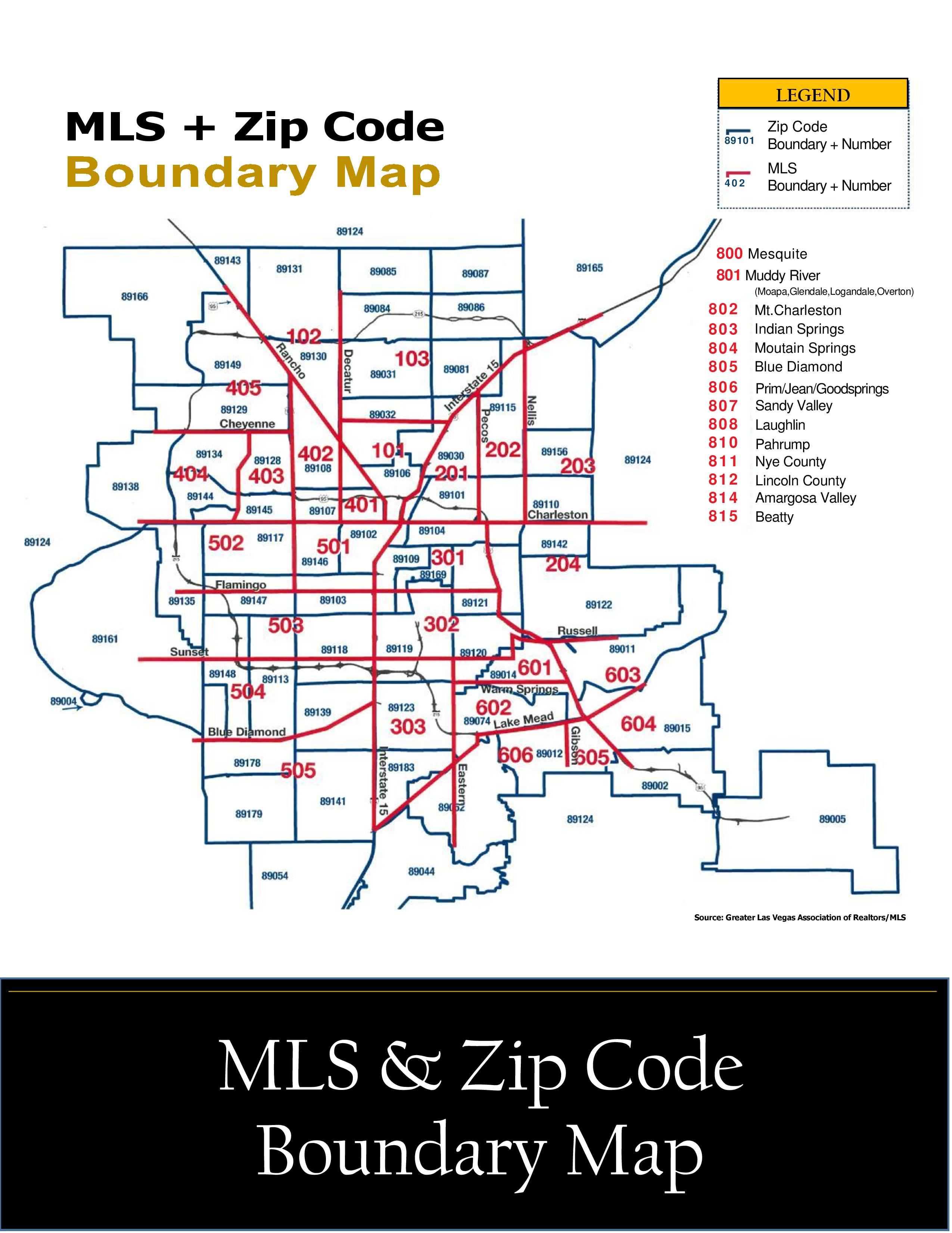 Cheyenne Zip Code Map.Mls Zip Code Boundary Map