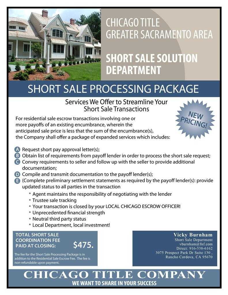 Short Sale Processing Kirsten Thomas